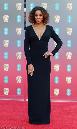BAFTAs 2018, tapete vermelho, celebridades, looks, vestidos longos, moda, estilo, premiação, time's up, red carpet, celebrities, fashion, style, outfits, gowns, rochelle homes