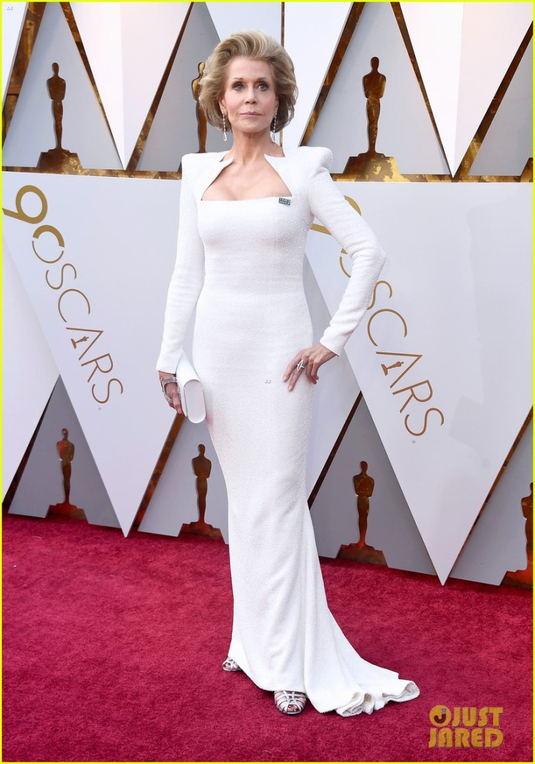 oscar 2018, tapete vermelho, celebridades, premiação, moda, estilo, looks, vestido longo, 2018 oscars, red carpet, celebrities, award season, fashion, style, gowns, outfits, jane fonda