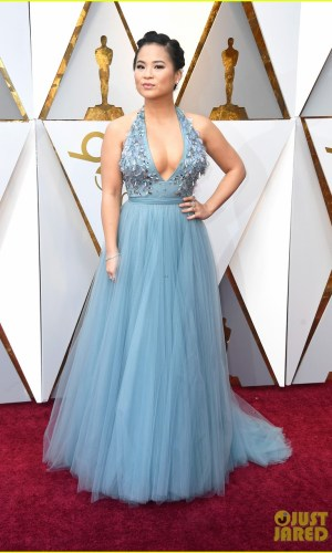 oscar 2018, tapete vermelho, celebridades, premiação, moda, estilo, looks, vestido longo, 2018 oscars, red carpet, celebrities, award season, fashion, style, gowns, outfits, kelly marie tran