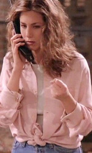 rachel green, jennifer aniston, friends, anos 90, looks, tendência, moda, estilo, trend, 90s, outfits, fashion, style, millennial pink