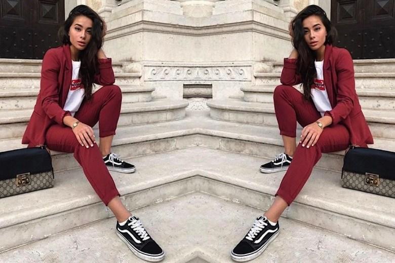 terninho com tênis, moda, estilo, look, inspiração, tendência, fashion, style, inspiration, outfit, suit with sneakers