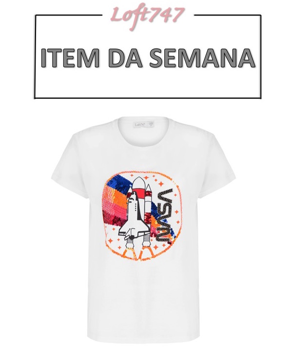 camiseta com estampa, nasa, item da semana, moda, estilo, looks, inspiração, printed t-shirt, tee, item of the week, fashion, style, inspiration, outfits