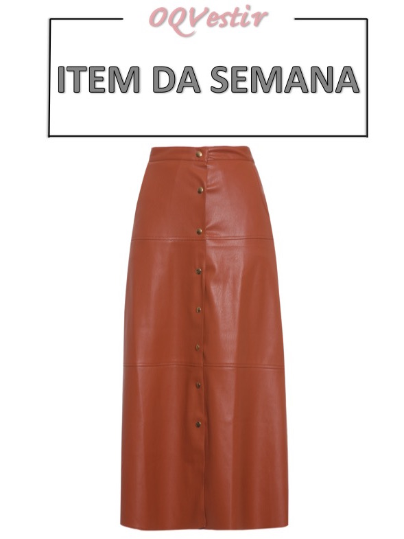 saia midi com botões, item da semana, moda, estilo, look. tendência, item of the week, midi skirt with frontal buttons, fashion, style, trend, outfits