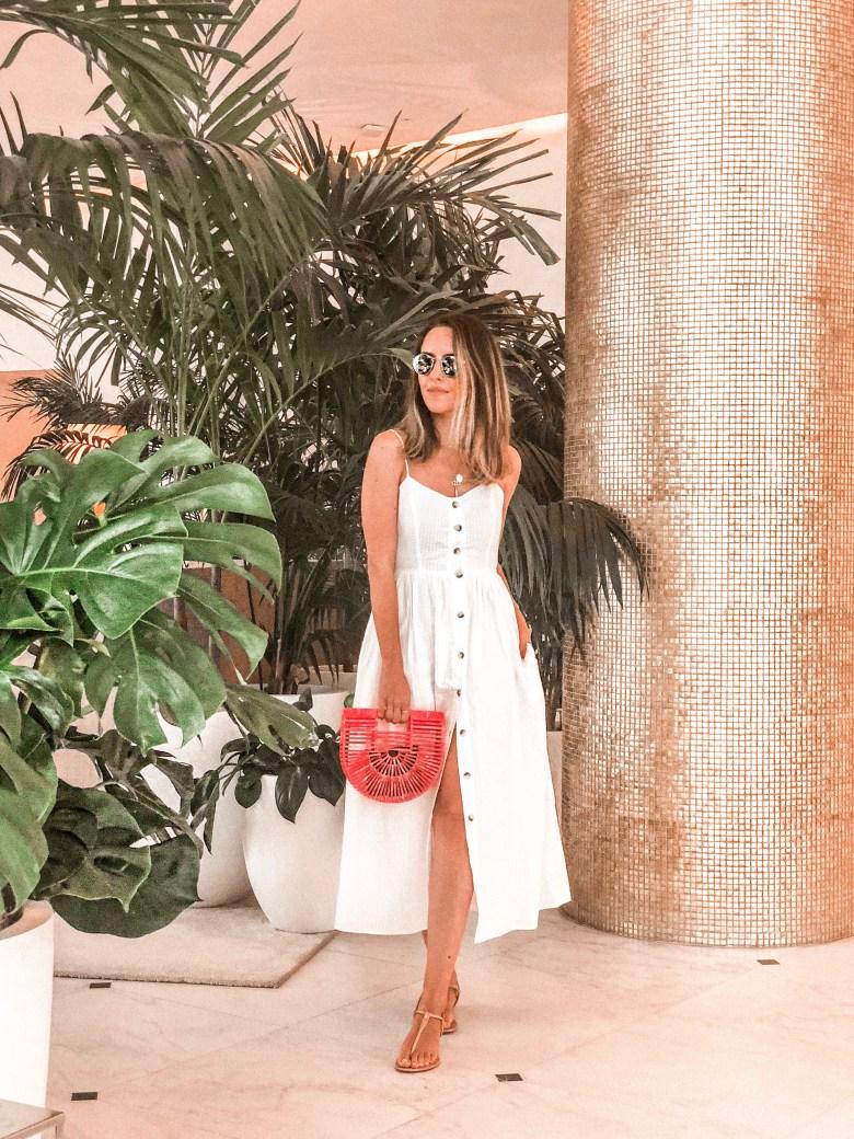 vestido com botões na frente, tendência, verão, moda, estilo, look do dia, gabi may, button front dress, trend, summer trend, fashion, style, inspiration, outfit of the day
