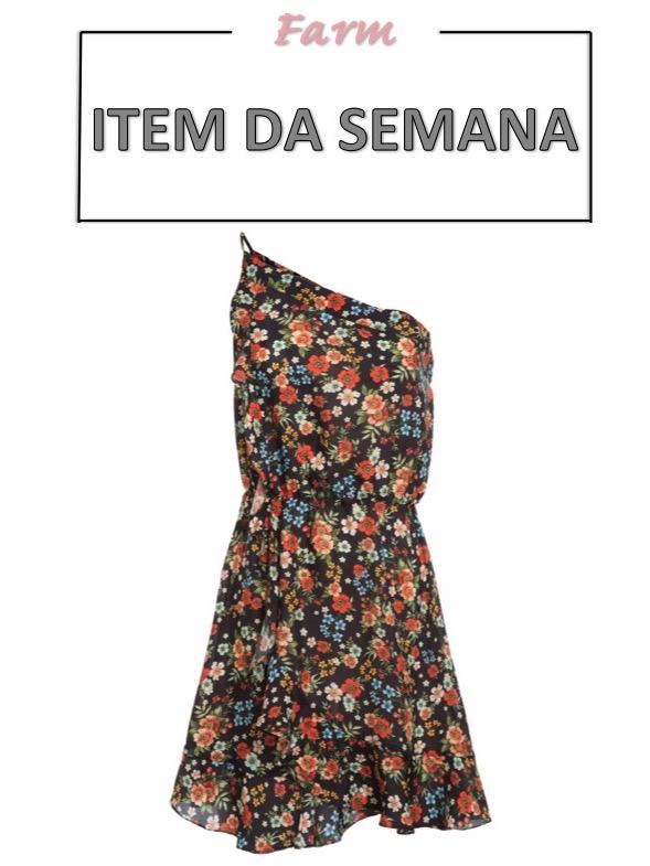 item da semana, vestido floral, moda, estilo, looks, item of the week, floral dress, fashion, style, outfits