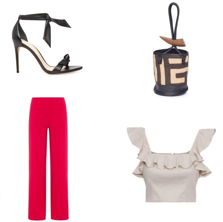 calça pantalona vermelha, moda, estilo, looks, wide leg pants, fashion, style, outfits