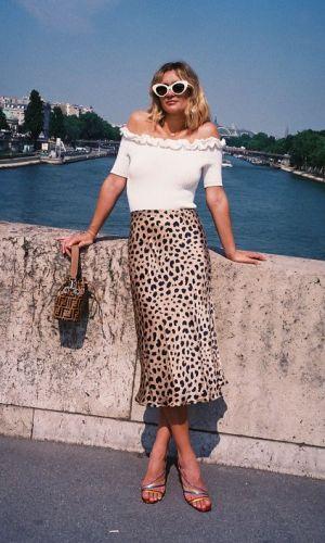 saia de onça, moda, estilo, midi, looks, inspiração, leopard skirt, midi skirt, fashion, style, inspiration, outfits