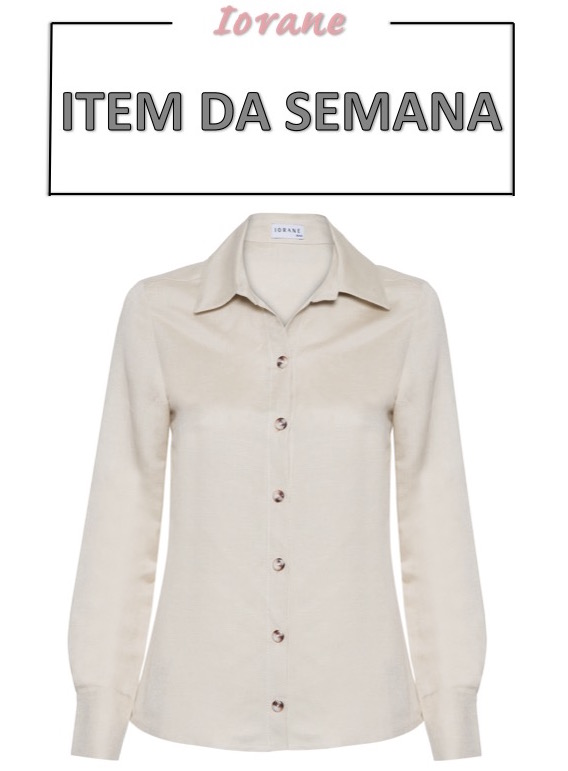 camisa, linho, tendência verão, moda, look, item da semana, item of the week, button down shirt, linen, summer, trend, fashion, style