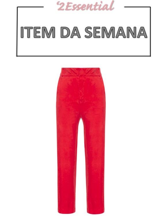 calça vermelha, item da semana, looks, moda, estilo, red pants, item of the week, outfits, fashion, style