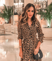 look miami, vestido onça, chemise, look, gabi may, moda, estilo, tendência, fashion, style, leopard dress, leopard print, zara dress, ootd