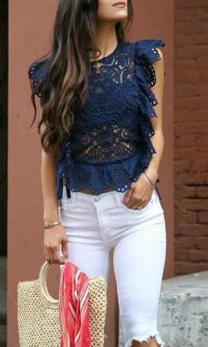 blusa estilosa, blusa babados, moda, estilo, looks, tendência, ruffles, ruffled top, stylish top, fashion, style, inspiration, trend, outfits
