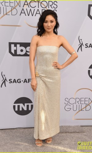sag awards 2019, best dressed, mais bem vestidas, hollywood, moda, estilo, looks, fashion, style, outfits, constance wu