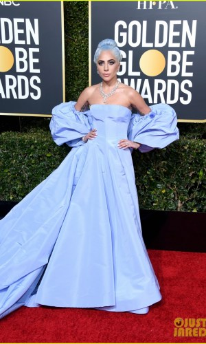 golden globes 2019, golden globes, awards season, red carpet, fashion, look, gown, tapete vermelho, premiação, moda, look, vestido longo, hollywood, lady gaga
