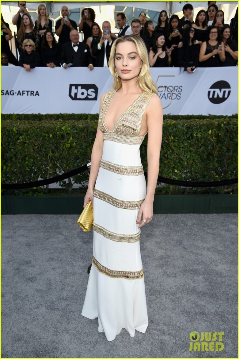 sag awards 2019, best dressed, mais bem vestidas, hollywood, moda, estilo, looks, fashion, style, outfits, margot robbie