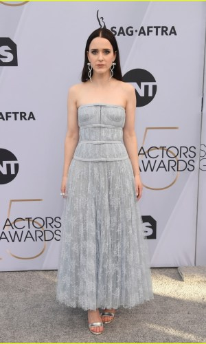 sag awards 2019, best dressed, mais bem vestidas, hollywood, moda, estilo, looks, fashion, style, outfits, rachel brosnahan