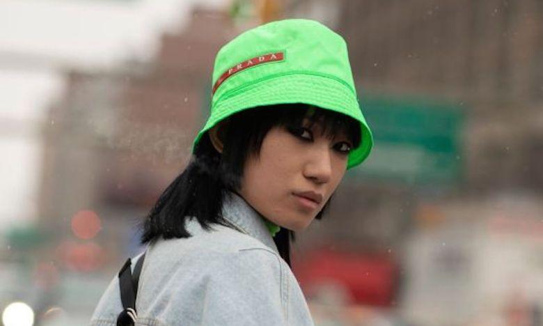 street style, nyfw, tendência, trend, look, outfit, chapéu de pescador, bucket hat