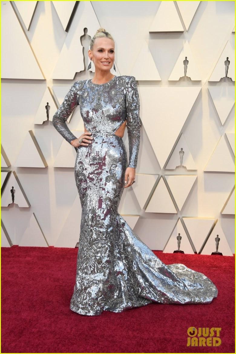 oscar 2019, tapete vermelho, celebridades, hollywood, moda, vestidos, looks, 2019 oscars, gowns, red carpet, celebrities, award season, molly sims, zuhair murad