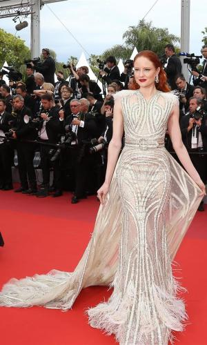 barbara meier at the 2019 cannes film festival red carpet