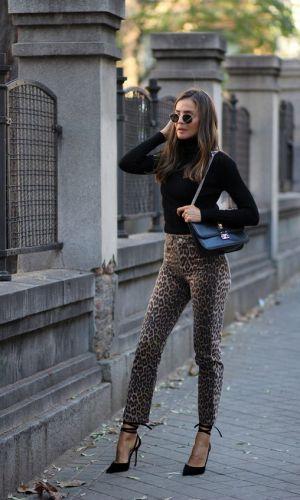 calça de onça, looks, moda, como usar, estilo, inspiração de moda, styling, fashion, style, leopard pants, animal print, how to wear