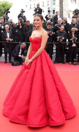natalia janoszek at the 2019 cannes film festival red carpet