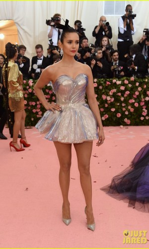 MET Gala 2019, Baile do Met, moda, estilo, celebridades, looks, Camp, fashion, style, red carpet, nina dobrev