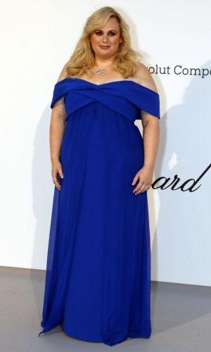 amfAR cannes 2019, rebel wilson blue gown
