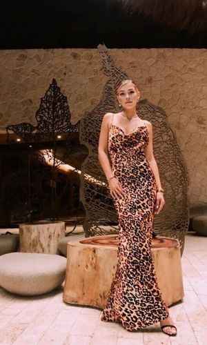 cowl neck dress, trend