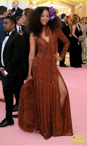 MET Gala 2019, Baile do Met, moda, estilo, celebridades, looks, Camp, fashion, style, red carpet, zoe saldana