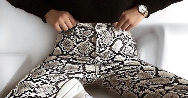 estampa de cobra, moda, tendência, snakeskin pants, snake print, trend, fashion