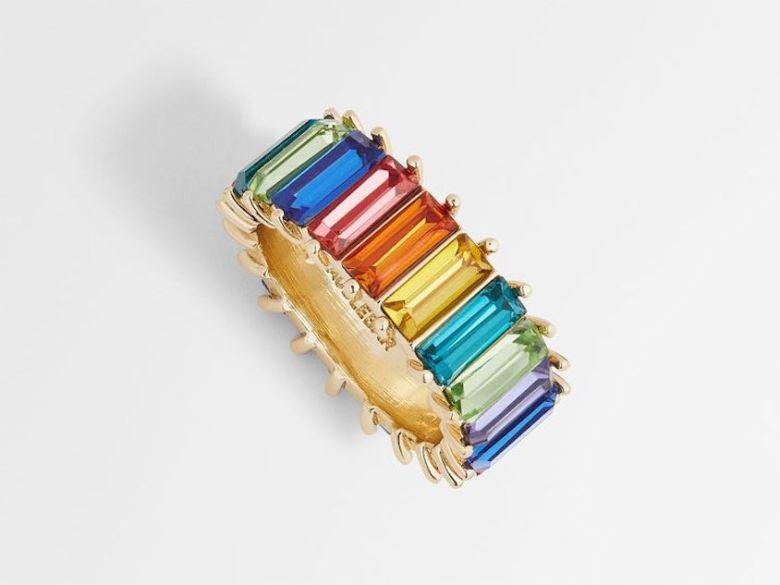 rainbow rings, acessório, anel, anel arco-íris, accessory, trend
