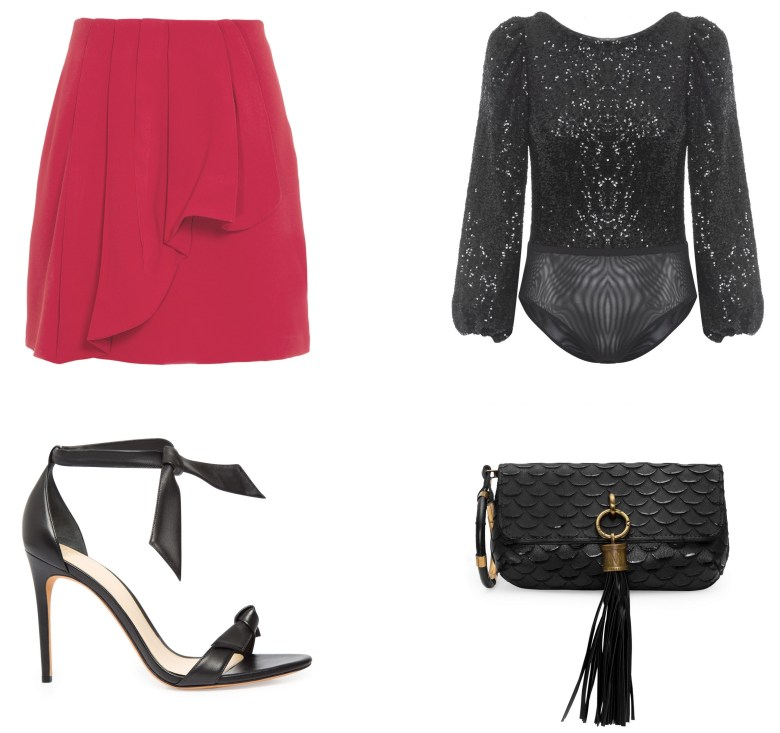 minissaia vermelha, item da semana, moda, estilo, looks, red miniskirt, item of the week, fashion, style, outfit