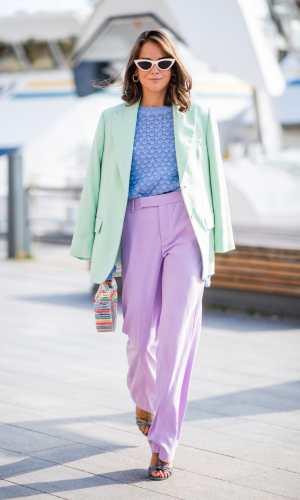 nina sandbech, moda, estilo, looks coloridos, fashion, style, outfit, color blocking