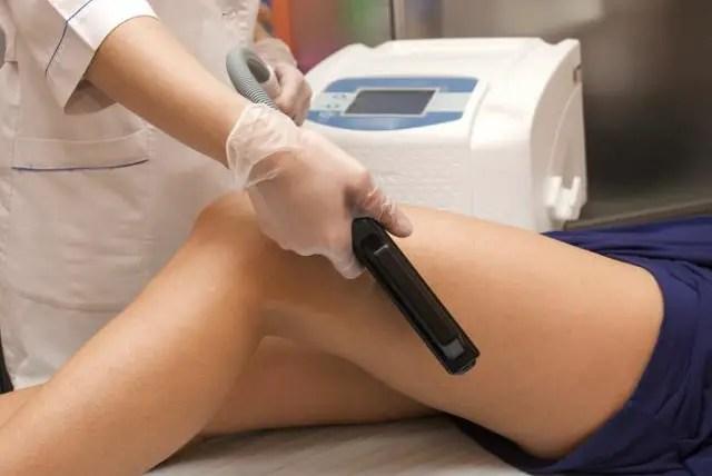 Tratamiento de depilación definitiva mediante láser.