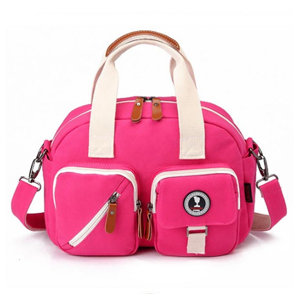 Small Diaper Bag LA Portable Baby Bags for Stylish Mums front view