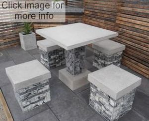 gabion seating ideas