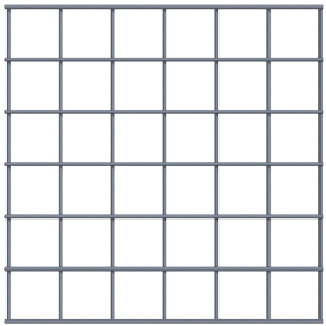 Panel 450 x 450 - 75 x 75 - 5mm transparant