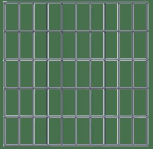Panel 500 x 500 - 100 x 50 - 5mm transparant