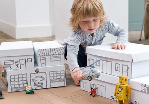 Construiesc orase pentru copii