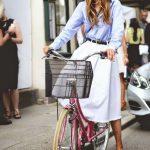 Fusta midi – manevra vestimentara de vara
