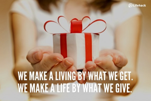 we-make-a-living-by-what-we-get-we-make-a-life-by-what-we-give