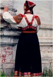 Sarafan - manevra vestimentara de toamna