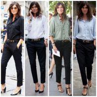 Pantalonii negri, cum ii purtam creativ