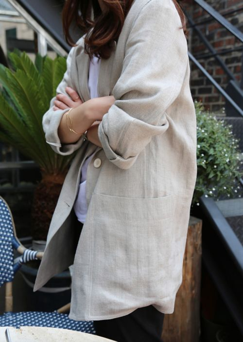 Sacoul din in – manevra vestimentara de vara