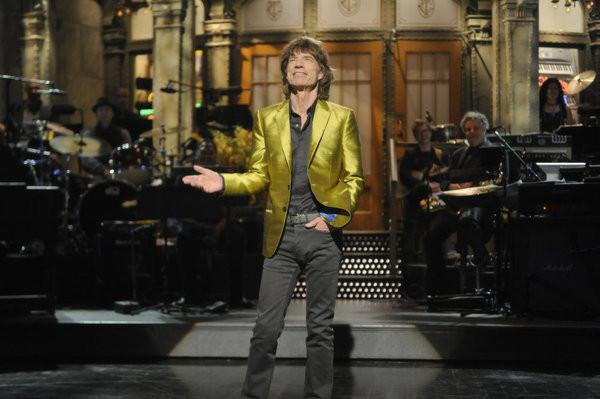 Un mare purtator de sacouri - Mick Jagger