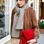 Piele intoarsa / velur – manevra vestimentara de primavara