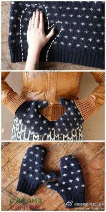 cum reciclezi pulovere vechi