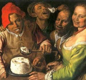 Mancatorii de ricotta - Vincenzo Campi (1536–1591)