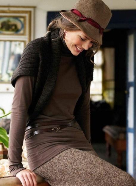 Palarie de fetru - manevra vestimentara de toamna