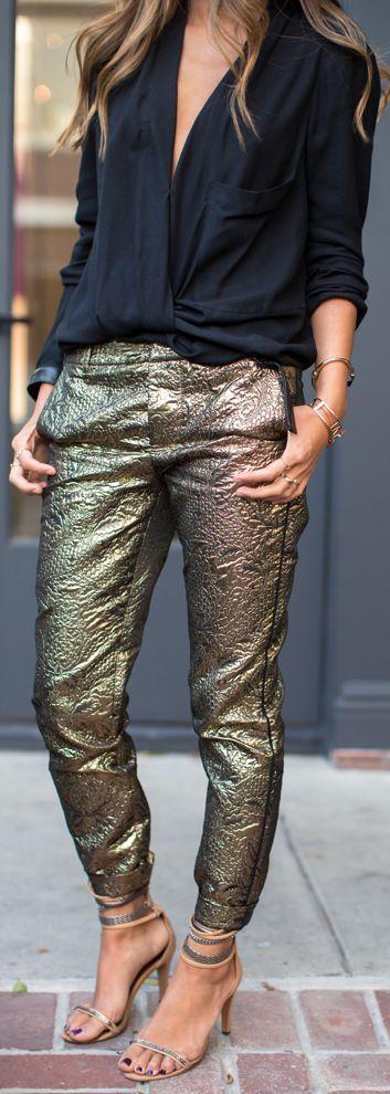 Cum purtam nuantele metalice