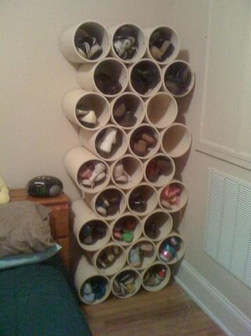 Tevi PVC suport de pantof